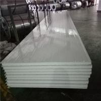 Quality 1150-50-476mm greywhite steel sheet eps sandwich panel with protective film both side for sale