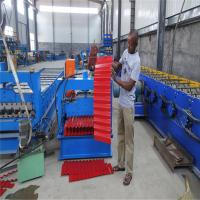 Buy cheap Automatic Color Steel Corrugated Sheet Roof Tile Roll Forming Machine Export to from wholesalers