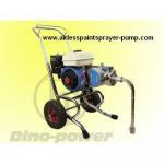 DP-6845 gasoline engine powered airless painting pump & airless spray gun set, belt-drive Manufactures