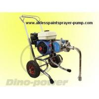 DP-6845 gasoline engine powered airless painting pump & airless spray gun set, belt-drive Manufactures