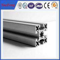 OEM t-slot anodized aluminum extrusion supplier, all types of aluminium extrusion Manufactures