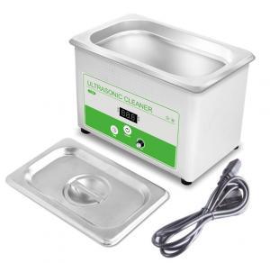 Mini Household Ultrasonic Cleaner , 800ML Ultrasonic Watch Cleaning Machine 35w Manufactures