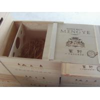 wooden wine boxes for sale Manufactures
