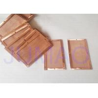 Rectangle Copper Electronic Components Made By Woven Copper Wire Mesh Fabric Manufactures