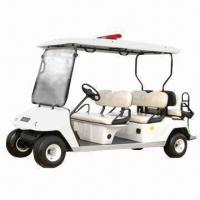 Electric Golf Cart with 48V/3kW Motor and 4 Passenger Capacity Manufactures