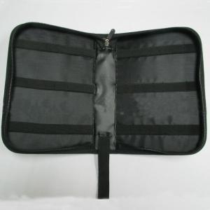 Multi Pocket Travel Tool Bag , Black Portable Electronics Travel Organizer Manufactures