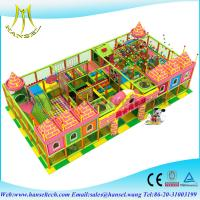 China Hansel fun soft playhouse indoor playground kid labyrinth happy land on sale