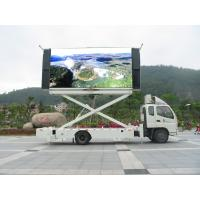 Full Color 60HZ 1 / 4 Scan 1R1G1B P10mm  P12.8mm Truck Mounted LED Display Signs Manufactures