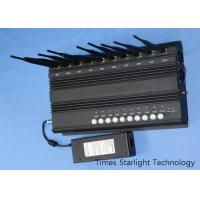 3G 4G LTE Cell Phone Jammer Wireless Signal Blocker With 10 Antenna RF Output Manufactures