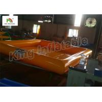 New Design 0.9mm PVC Tarpaulin Single Layer Inflatable Swimming Pools For Family Manufactures
