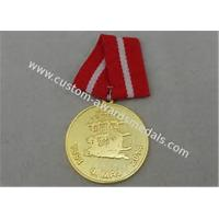 Quality Diecasting Polygon Antique Custom Awards Medal Brass Zinc Alloy Soft Enamel for sale