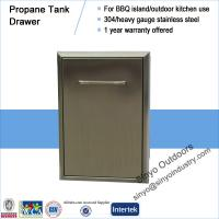 15 Inch Premium Grills Propane Tank or Trash roll out for a bbq Manufactures