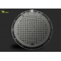 Round Drain Manhole Grating Square Drainage Ductile Cast Iron Well Cover Frame Manufactures
