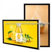 China Indoor Wall Mounted Lcd Advertising Screen Android Video Player Usb Card Download on sale