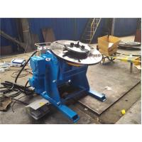 Vessel Rotary Welding Positioner Turntable with Servo Motor , Pipe Positioner Table 300KG Loading Manufactures