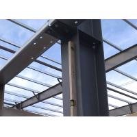 Pre - Fabricated Steel Structure Warehouse Customized Galvanized / Painted Surface Manufactures