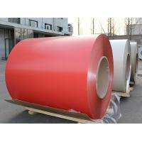 Mill Finish PE Pvdf Coated Aluminum / O - H112 Aluminium Colour Coated Coils Manufactures