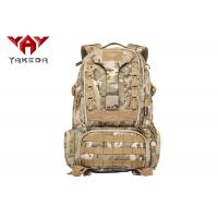 Military Hiking Mountain Climbing Backpack / Tactical Outdoor Rucksack For Trekking Manufactures
