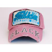 Colorful Patch Embroidery Printed Baseball Caps Cotton For Unisex Adults Manufactures