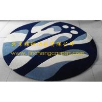 hand tufted 100%acrylic round modern area rug Manufactures