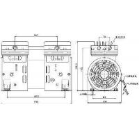 Silent Oil-Free Air Compressor Head (TOP550) Manufactures
