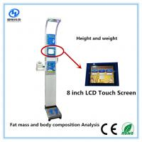 Ultrasonic height weight scales with blood pressure , temperature, fat mass  for medical  Equipment Manufactures
