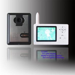 China 3.5 inch wireless video door phone on sale