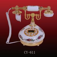 Antique telephone (CY-611), Crafts  Phone Manufactures