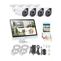 Quality 4ch POE NVR Kits 2.0MP IP Camera + Display Screen,IP Camera Kits for sale