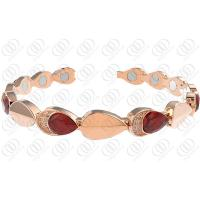 Muses Eye 316l Stainless Steel Bracelets With Water Drop Crystal Manufactures