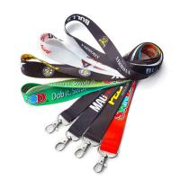 Polyester Printed Neck Lanyard Strap With Custom Accessories Eco Friendly Manufactures