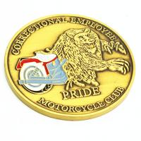 USA hot sale gold plated metal challenge coin Manufactures