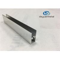 Bright Dip Furniture Aluminium Profiles Precise Cutting For Shower Enclosure Profile Manufactures