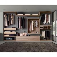 New Metal Plate Wardrobe Step-in Cloakroom E0 Class Environmental Wardrobe Manufactures