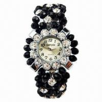 Jewelry Watch, alloy case with jewelry decoration strap Manufactures
