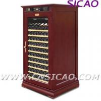 China Wooden Wine Cooler ; Refrigerated Wine Cabinet on sale