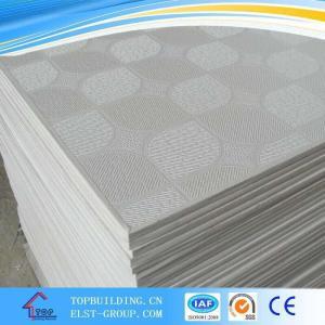 China PVC Laminated Gypsum Ceiling Tile/PVC Gypsum Ceiling Tile/Gypsum Ceiling Board/ Standard Gypaum Board on sale