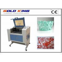 Buy cheap Hot sale GK-1390 9060 Co2 3d fabric wood acrylic laser engraving machine price from wholesalers
