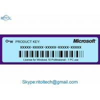 Product Key Code for Windows 10 , Windows 10 Pro Original Product Key 64 Bit Manufactures