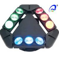 9 Heads 10W 4in1 RGBW LED Spider Moving Head Stage Light Quad - Color 5 Degree Manufactures