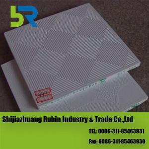 China PVC laminated gypsum ceiling tiles on sale