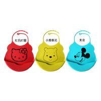 China Funny Silicone Baby Bib  With Crumb Catcher for sale