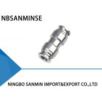 SSU Stright Stainless Steel Air Fittings High Performance Eco Friendly Manufactures