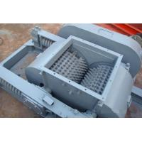 Automatical Double Toothed Roll Crusher / Coal Crusher Machine No Dust Pollution Manufactures