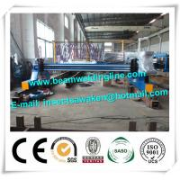 China Plate Cnc Plasma Cutting Machine For Flame / H Beam Steel Production Line on sale