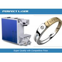 Small UV Stainless Steel Laser Engraving Machine , CNC Metal Marking Machine Durable Manufactures