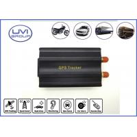 Buy cheap VT103A Real Time 850 / 900 / 1800 / 1900MHZ GSM / GPRS Vehicle GPS Trackers from wholesalers