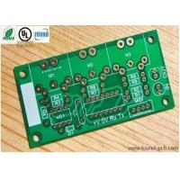 Quick Turn High Frequency PCB Fabrication / FR4 Single Sided PCB Board Manufactures