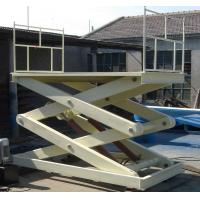 SJG 1 Hydraulic Lifting Platform for Working Height 1330 / 3260 mm for raising Manufactures