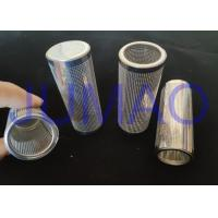Chemically Etched Metal Mesh Filter Photo Etched Screens Punching Cylinder Manufactures
